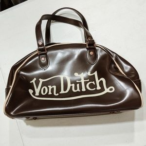 Vintage Von Dutch bowling bag